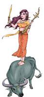 นางสงกรานต์ชื่อ กิทิมา